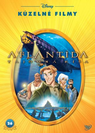 Atlantida: tajemná říše Disney kouzelné filmy
