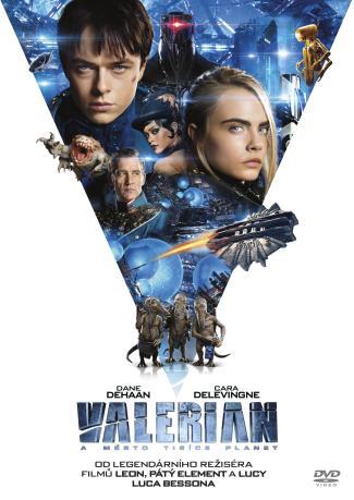 Valerian a Město Tisíce Planet 2Bd (3D+2D)