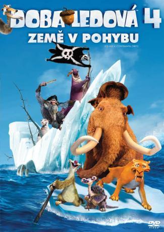 Doba ľadová 4: Zem v pohybe DVD (SK)