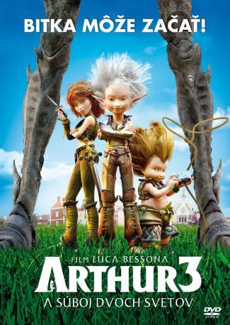 Arthur a súboj dvoch svetov DVD (SK)