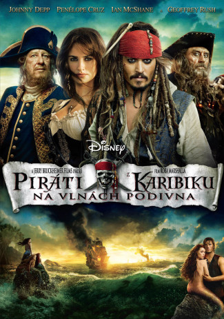 Piráti z Karibiku: Na vlnách podivna 2BD (3D+2D)
