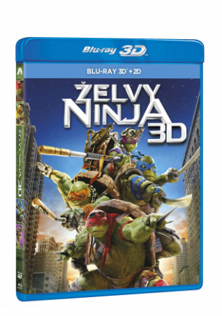 Želvy Ninja 2BD (3D+2D) (BRD)