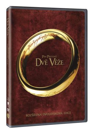 Pán prstenů: Dvě věže-rozšířená edice 2DVD (DVD)