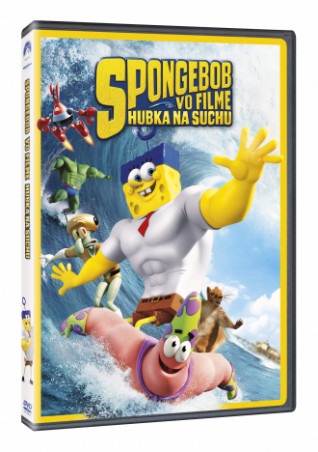 SpongeBob vo filme: Hubka na suchu (SK) (DVD)