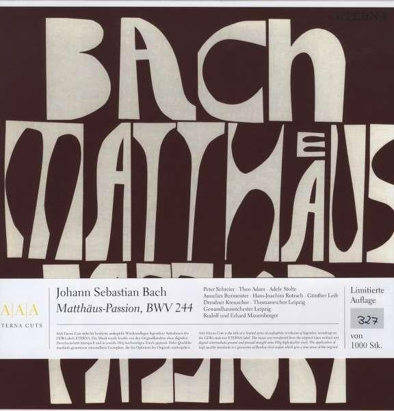 Johann Sebastian Bach - Matthäus-Passion, BWV 244