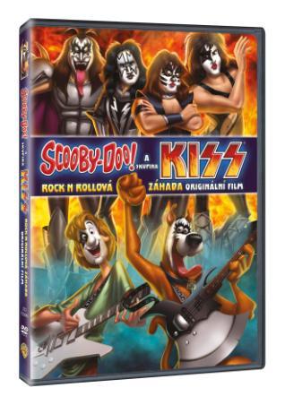 Scooby-Doo a skupina Kiss (DVD)