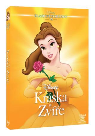 Kráska a zvíře - Edice Disney klasické pohádky (DVD)