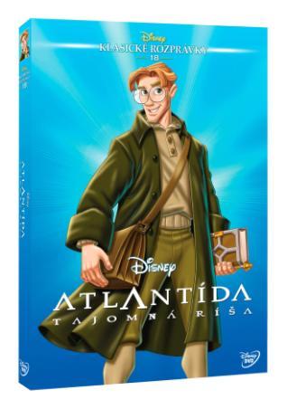 Atlantída: Tajomná ríša DVD (SK) - Edícia Disney klasické rozprávky (DVD)