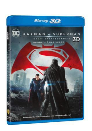 Batman vs. Superman: Úsvit spravedlnosti 3BD (3D+2D+2D prodloužená verze) (BRD)