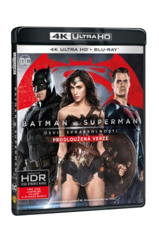 Batman vs. Superman: Úsvit spravedlnosti 2BD (UHD+BD) - prodloužená verze (BRD)