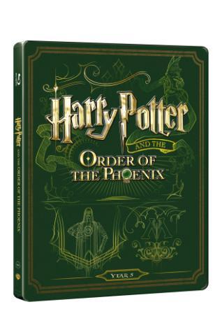Harry Potter a Fénixův Řád (Bd+Dvd Bonus) - Steelbook (BRD)