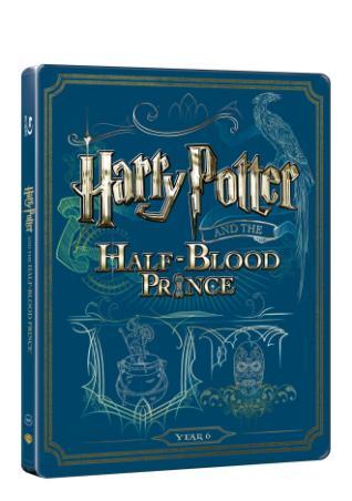 Harry Potter a Princ Dvojí Krve (Bd+Dvd Bonus) - Steelbook (BRD)