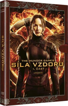 Hunger Games: Síla vzdoru 1. část - Knižní edice (DVD)