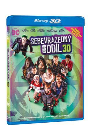 Sebevražedný oddíl 3BD (3D+2D+2D prodloužená verze) (BRD)