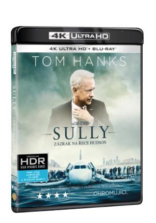 Sully: Zázrak na řece Hudson 2BD (UHD+BD) (BRD)