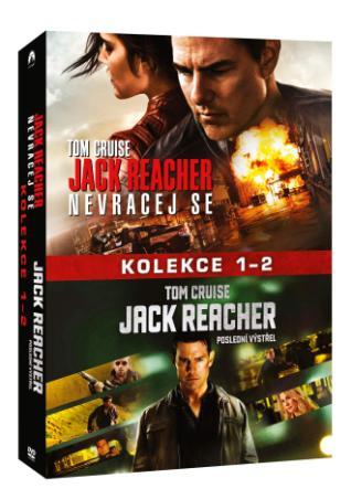 Jack Reacher kolekce 1-2 2DVD (DVD)