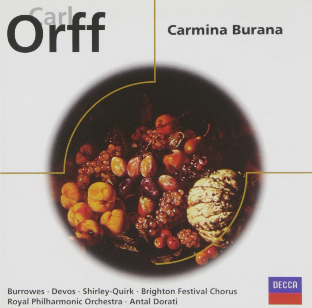 ORFF CARL - DORATI/ROYAL.PHIL.ORCH. - CARMINA BURANA
