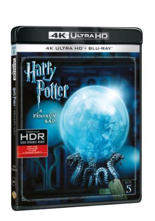 Harry Potter a Fénixův řád 2BD (UHD+BD) (BRD)