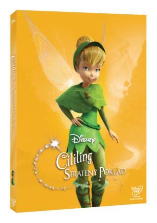 Cililing a stratený poklad - Edícia Disney Víly  (DVD)