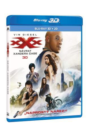 xXx: Návrat Xandera Cage 2BD (3D + 2D) (BRD)