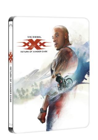 xXx: Návrat Xandera Cage 2BD (3D + 2D) - steelbook (BRD)