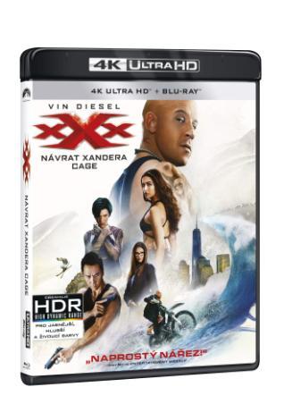 xXx: Návrat Xandera Cage 2BD (UHD + 2D)  (BRD)