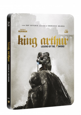 Král Artuš: Legenda o meči 2BD (3D+2D) - steelbook (BRD)