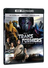 Transformers: Poslední rytíř 3BD (UHD+BD+bonus disk) (BRD)