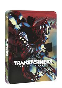 Transformers: Poslední rytíř 3BD (UHD+BD+bonus disk) - steelbook (BRD)