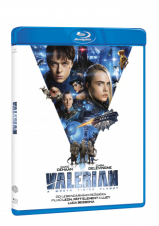 Valerian a Město Tisíce Planet Bd (BRD)