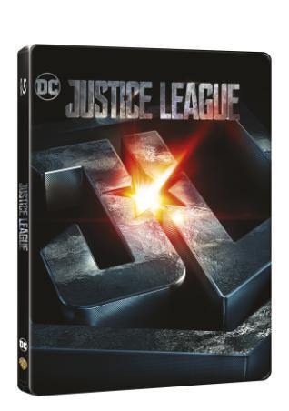 Liga spravedlnosti 2BD (3D+2D) - steelbook (BRD)