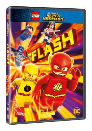 Lego Dc Super Hrdinové: Flash (DVD)