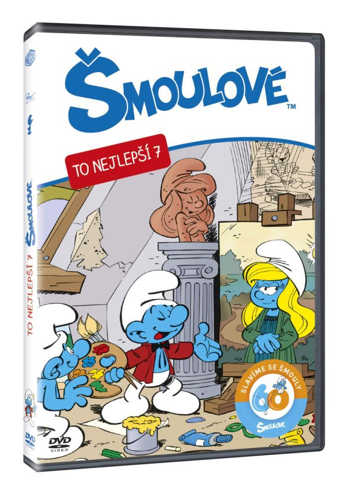 Šmolkovia - To najlepšie 7. (SK) DVD