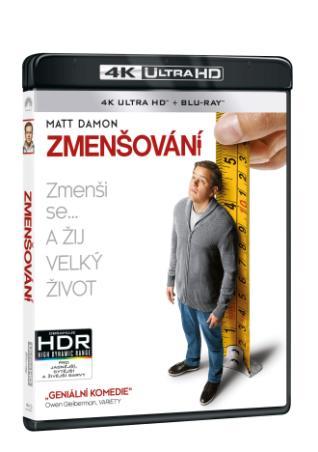 Zmenšování 2BD (UHD+BD) (BRD)