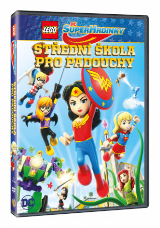 Lego DC Superhrdinky: Střední škola pro padouchy (DVD)