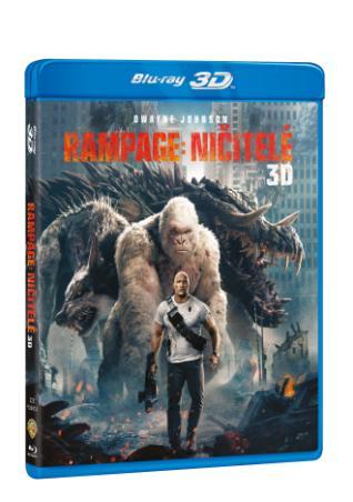 Rampage: Ničitelé 2BD (3D+2D) (BRD)