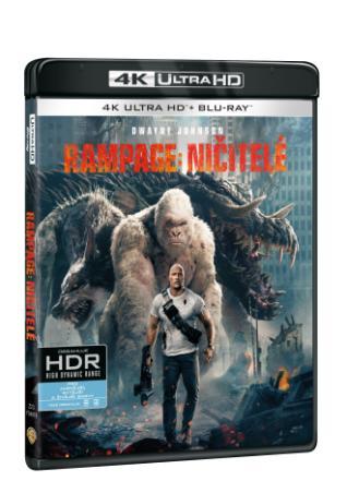 Rampage: Ničitelé 2BD (UHD+BD) (BRD)