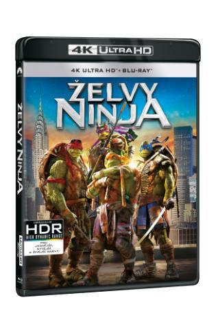 Želvy Ninja 2BD (UHD+BD) (BRD)