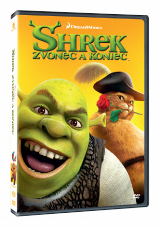 Shrek: Zvonec a koniec SK DVD (DVD)