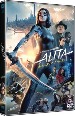 Alita: bojový anjel (DVD)