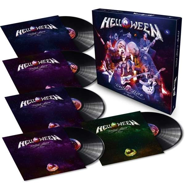 Helloween - United Alive In Madrid Ltd.