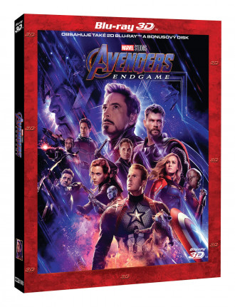 Avengers: Endgame 3BD (3D+2D+bonus disk) - Limitovaná sběratelská edice (BRD)