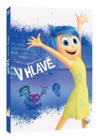 V hlave DVD (SK) - Edícia Pixar New Line (DVD)