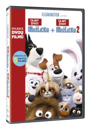 Tajný Život Maznáčikov Kolekcia 1.+2. 2Dvd (Sk) (DVD)
