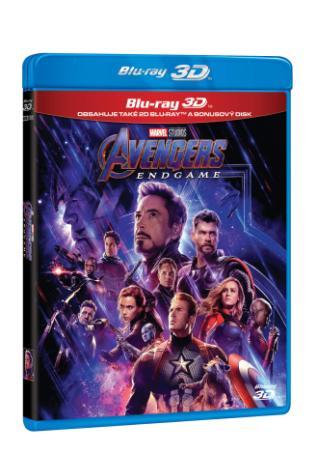 Avengers: Endgame 3BD (3D+2D+bonus disk) (BRD)
