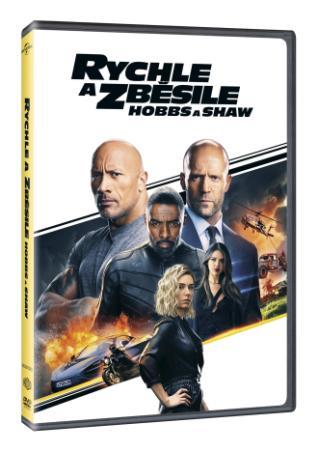 Rychle a zběsile: Hobbs a Shaw (DVD)