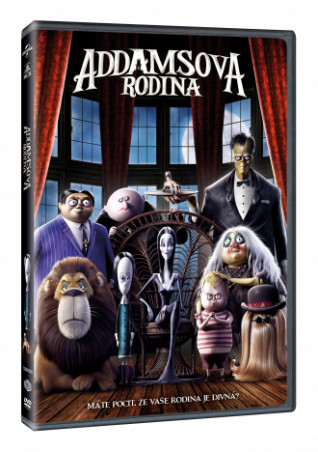 Rodina Addamsovcov (SK) DVD (DVD)