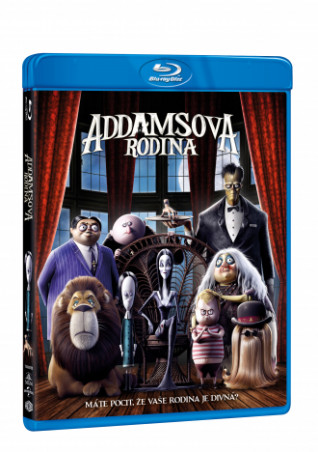 Rodina Addamsovcov (SK) BD (BRD)
