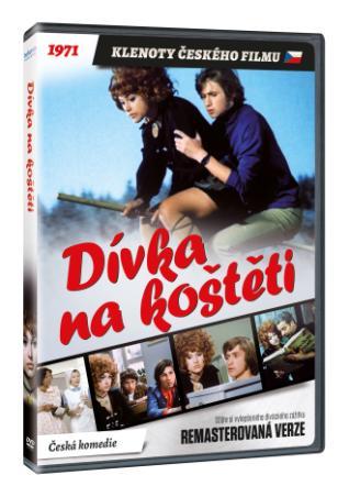 Dívka na koštěti (remasterovaná verze) (DVD)