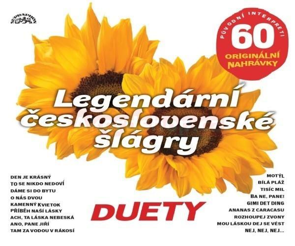 VARIOUS - LEGENDARNI CESKOSLOVENSKE SLAGRY - DUETY